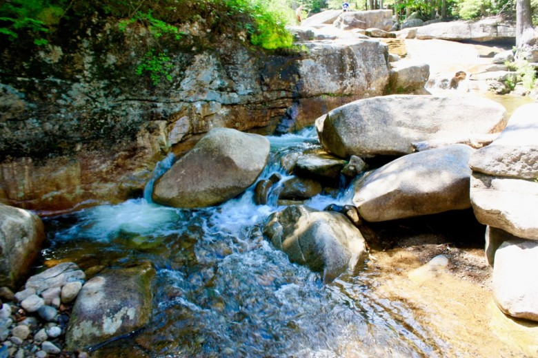 You'll find beautiful rock formations and small falls in the nooks of Diana's Baths.