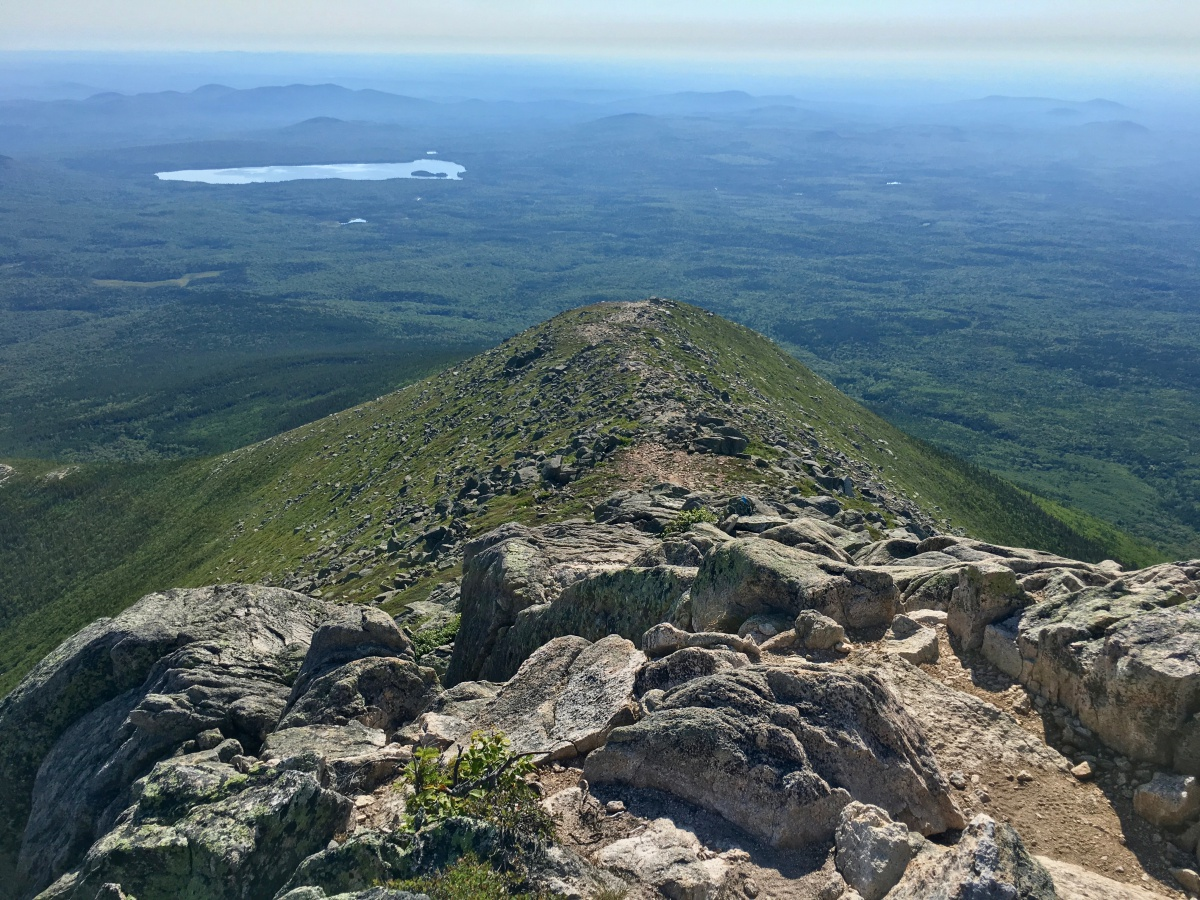 Hiking Mount Katahdin and the Infamous Knife Edge Trail in Maine ...