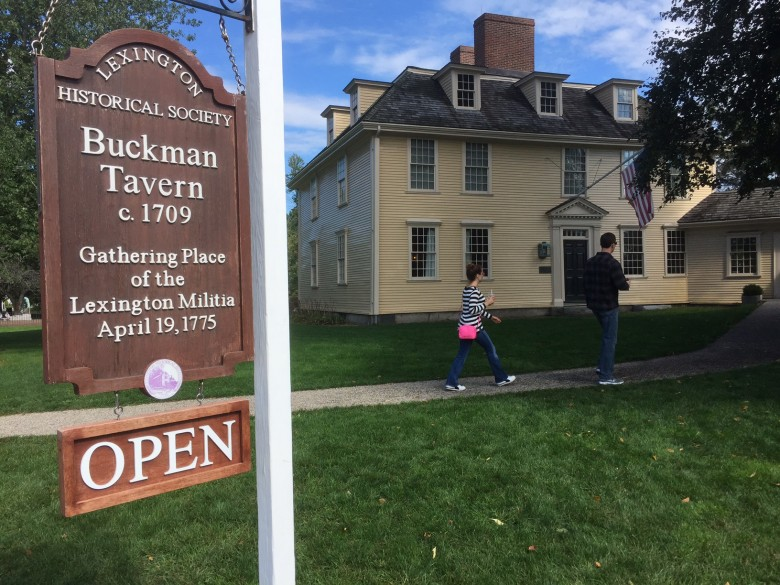 Guided tours are more than just about the foliage. The trips included historical stops, like Buckman Tavern in Lexington, Massachusetts, a National Historic Landmark that is associated with the American Revolution's first battle in 1775.
