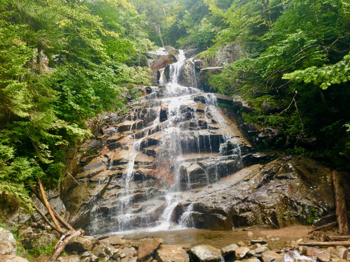 new hampshire hiking maps 10 New Hampshire Waterfalls That Are Worth The Hike New England new hampshire hiking maps