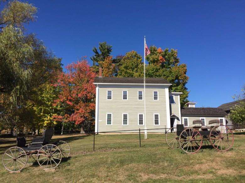 New Hampshire's Canterbury Shaker Village.