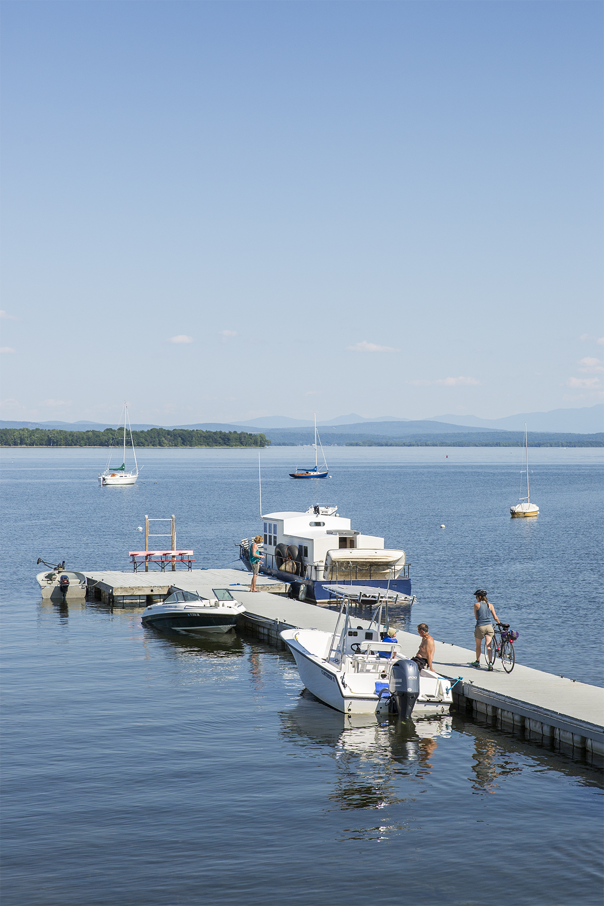Scenes From A Lake Champlain Houseboat Adventure Little