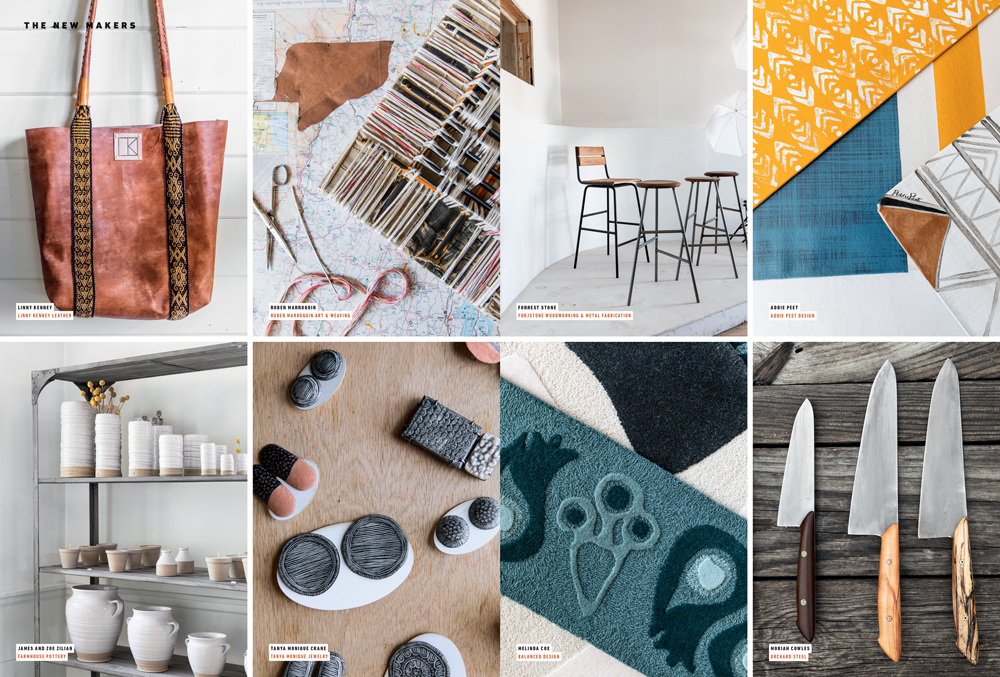 The New Makers | Artisans in New England Zilian House Plans on