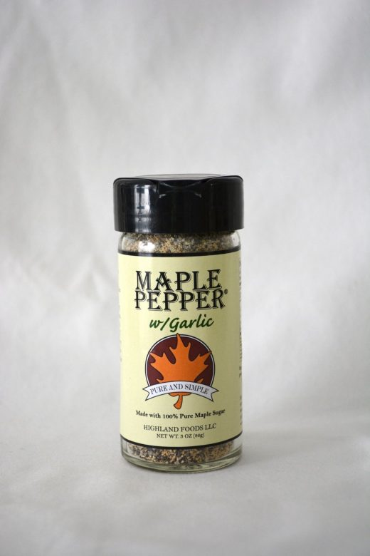 Maple Products Guide (Maple Pepper with Garlic, Highland Foods LLC)