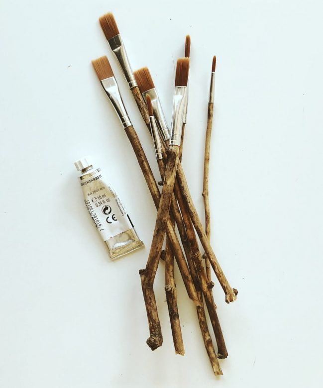 Maple Products 2 - Maple Branch Brushes