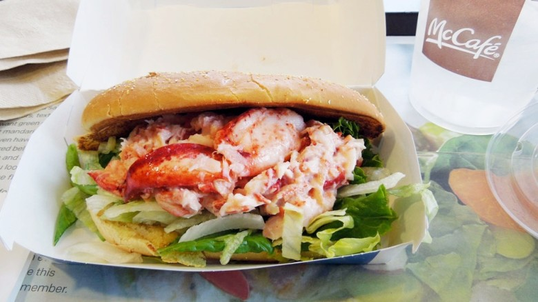 The McDonald's Lobster Roll Experience - New England Today