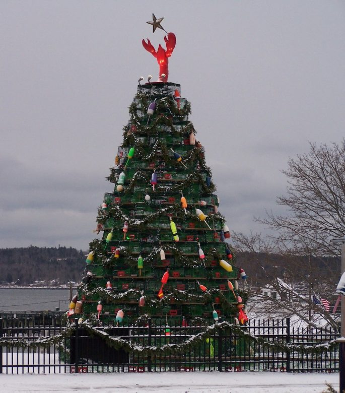 Rockland, ME | New England Lobster Trap Trees