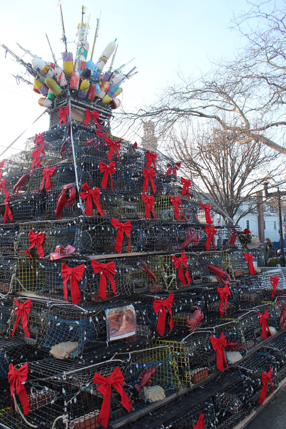 Provincetown, MA | New England Lobster Trap Trees
