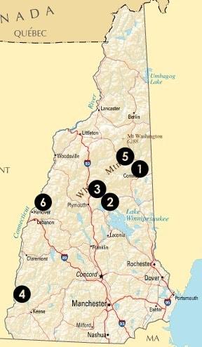 New Hampshire Fall Foliage Guide