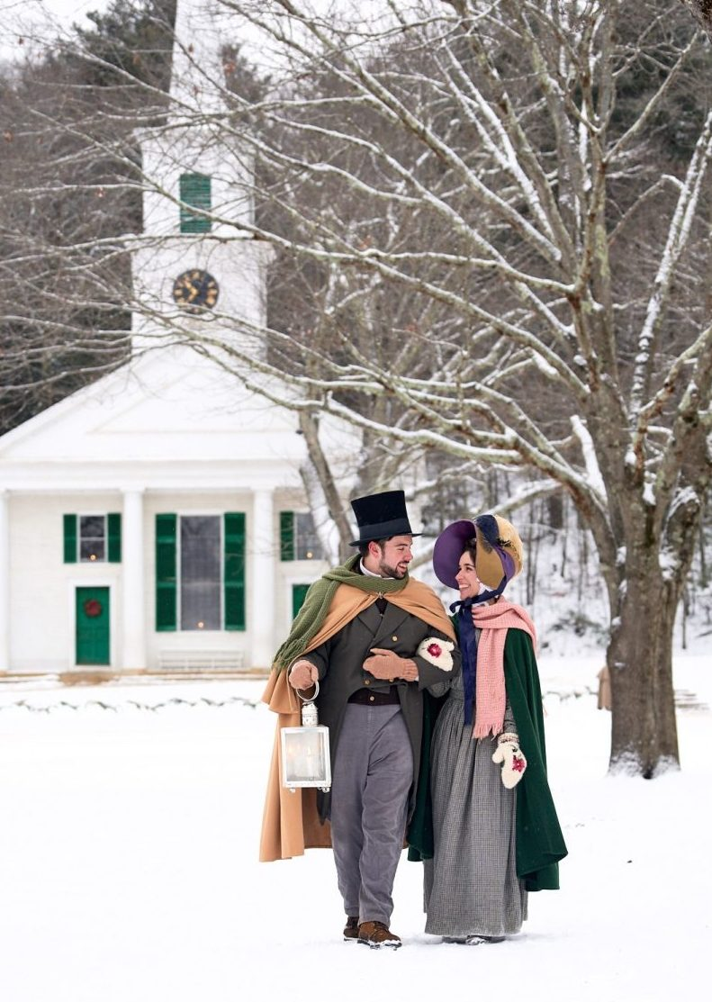 Christmas by Candlelight at Old Sturbridge Village