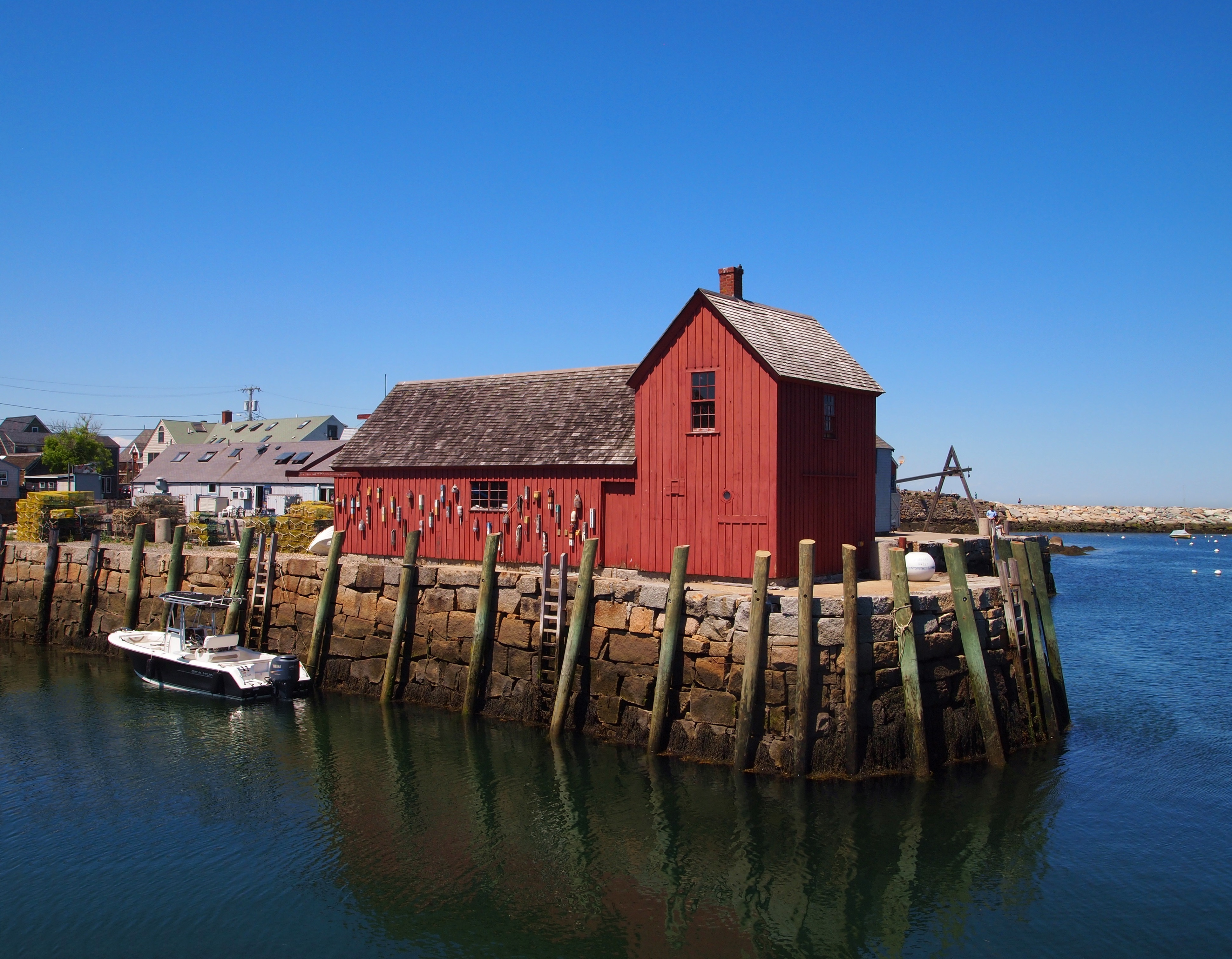 Summer Day Trip To Rockport Ma New England Today