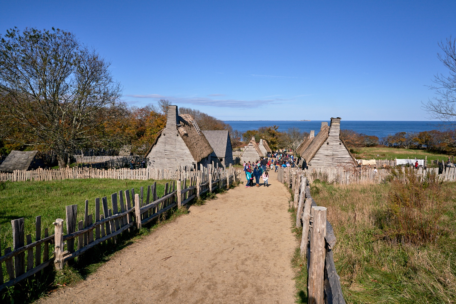 Plimoth Patuxet Museums in Plymouth, MA