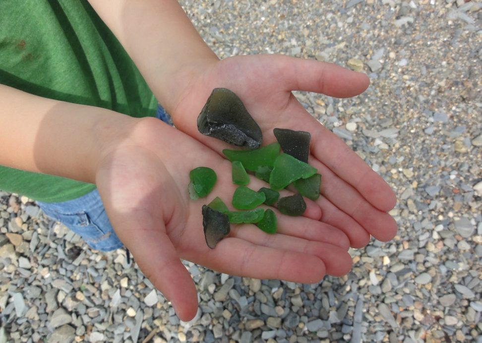 Best Beaches for Sea Glass in New England
