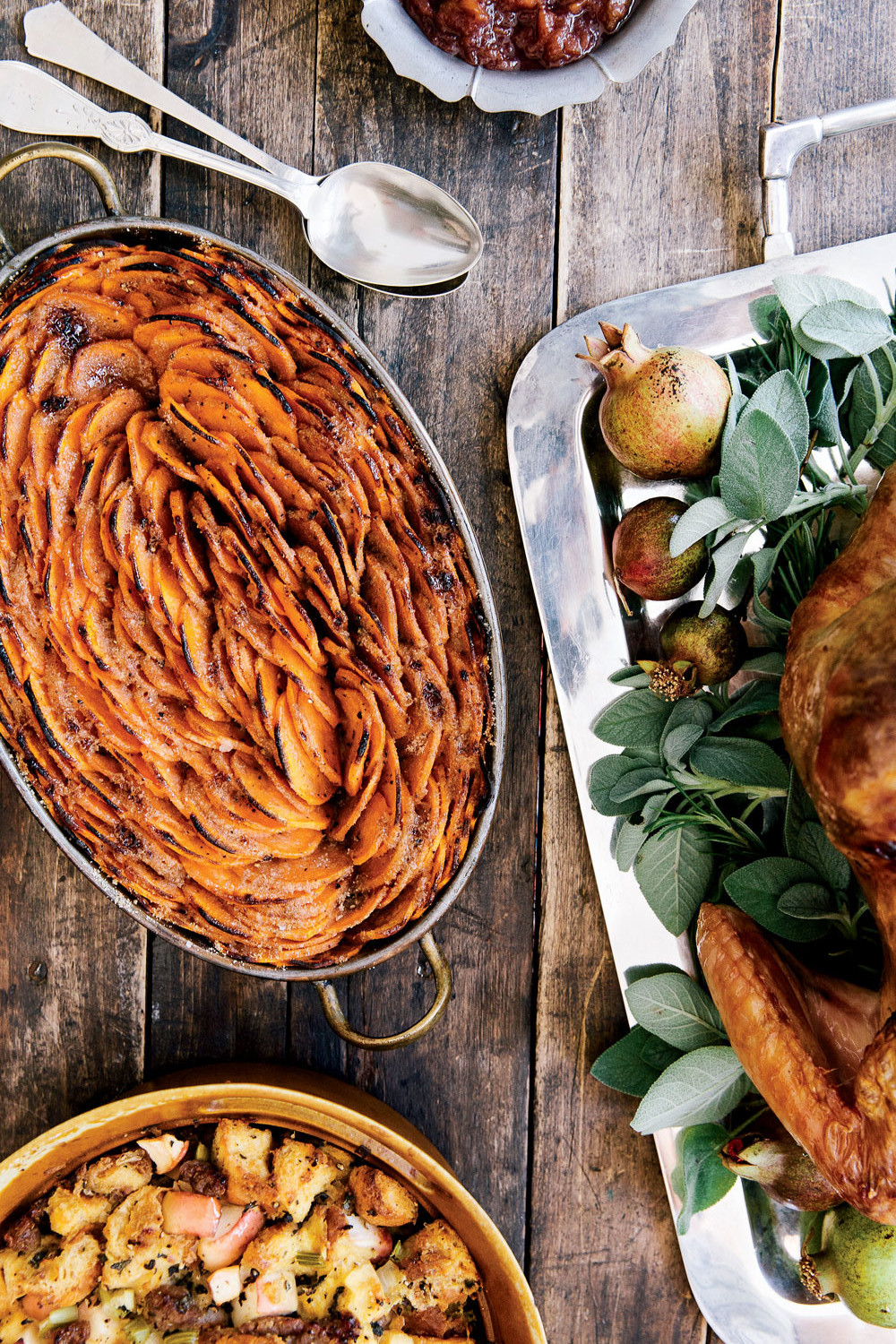 The new new england holiday kitchen 12 recipes for busy cooks it took many tries to get the crispy caramelized sweet potatoes recipe we were looking for candied sweet potatoes that were crisp not mushy forumfinder Images