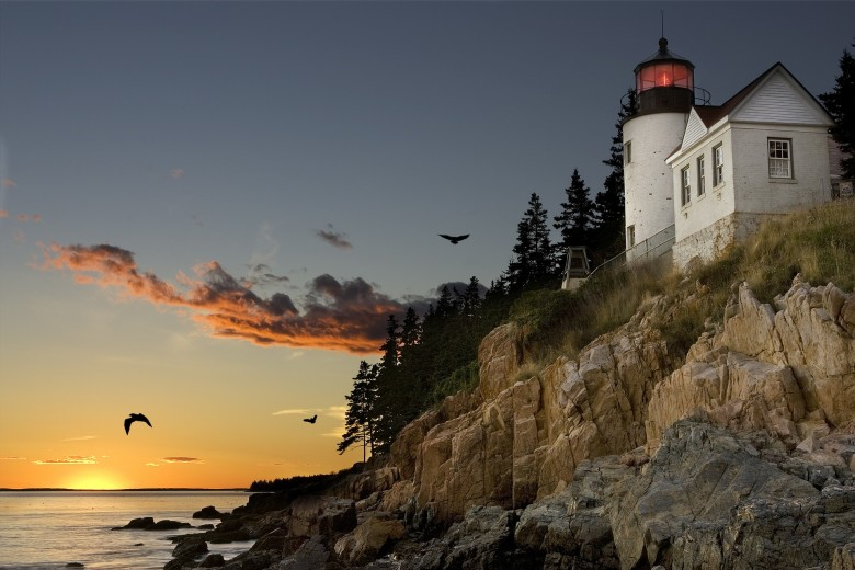 bass harbor head light acadia national park