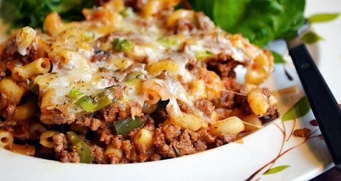 American Chop Suey Casserole Recipe