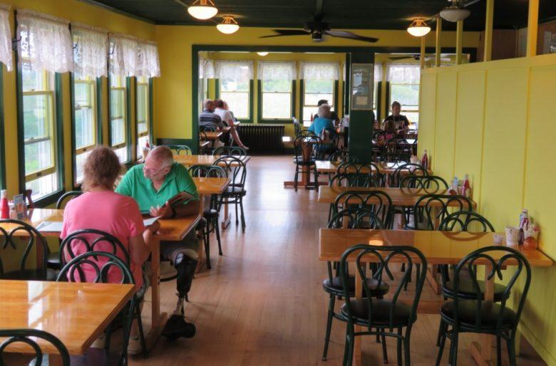 Aunt Carrie's Restaurant in Narragansett, Rhode Island