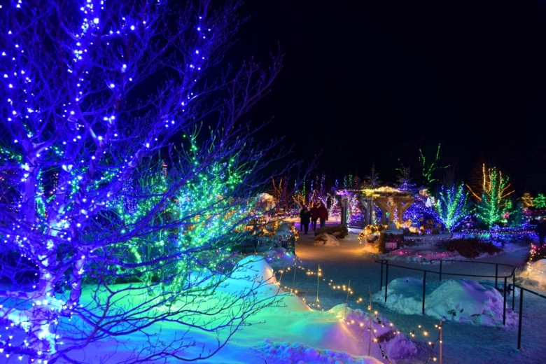 Best Places To See Christmas Lights In New England New