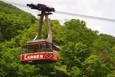 The Cannon Mountain Aerial Tramway