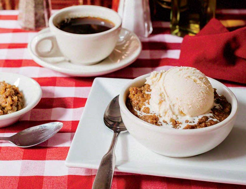 Old-Fashioned Durgin-Park Indian Pudding