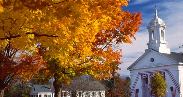 Prettiest Fall Foliage Villages in Massachusetts