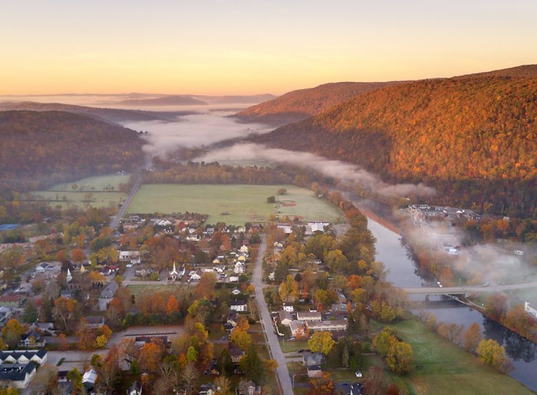 Best Foliage Town in Every New England State