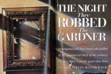 Isabella Stewart Gardner Museum Robbery