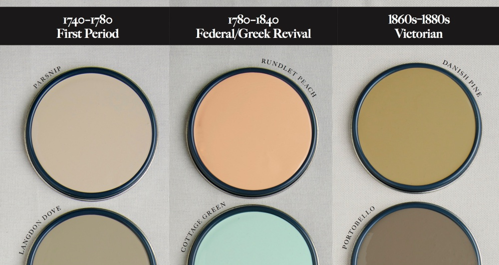 New England Historic Paint Colors Shades Of An Era New England Today