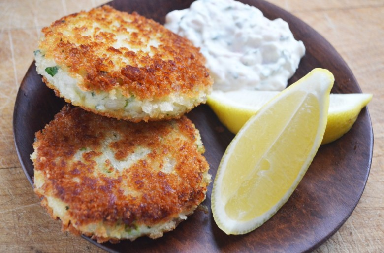 How to make fish cakes with homemade tartar sauce step for How to make fish patties