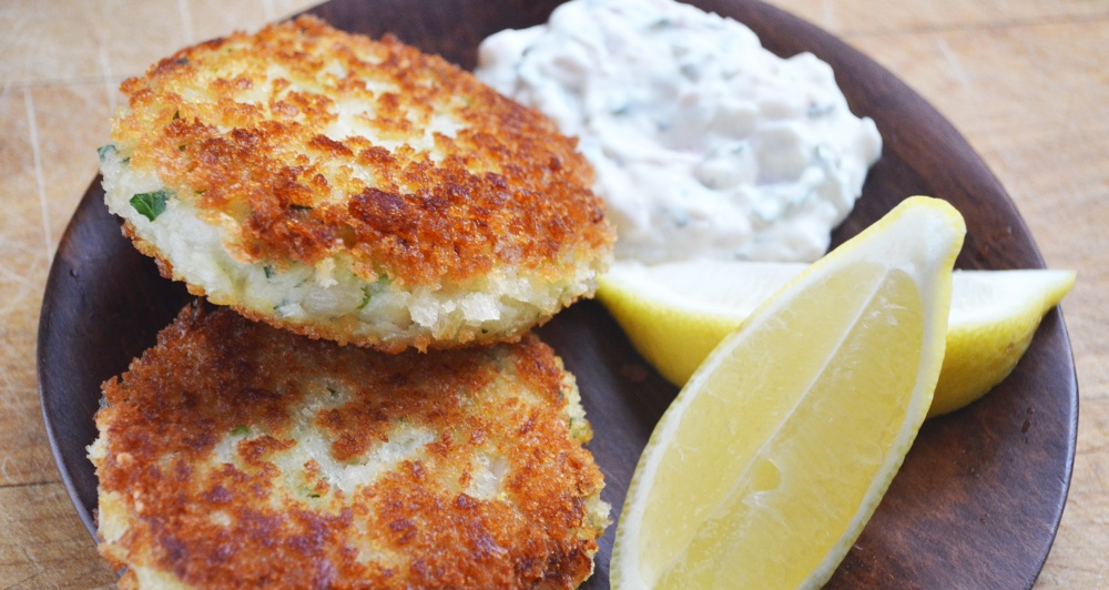 How to Make Fish Cakes with Homemade Tartar Sauce StepbyStep