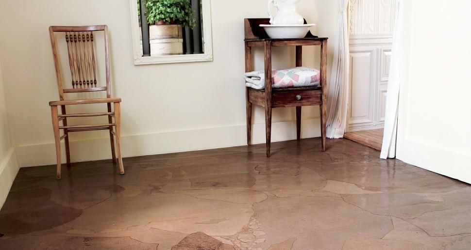 Paper Bag Floor Diy Instructions For Low Cost Flooring Yankee