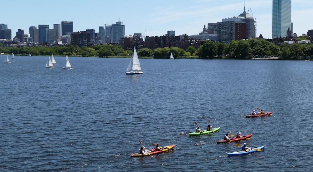 kayaking boston