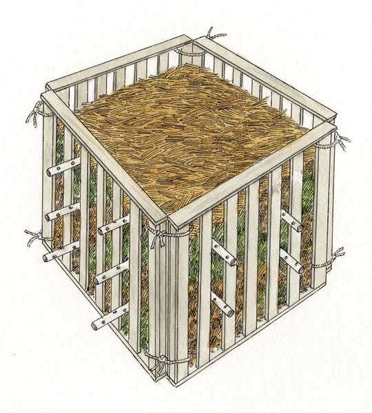 build a compost bin with expert tips. Black Bedroom Furniture Sets. Home Design Ideas