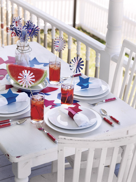 4th Of July Crafts Table Decor