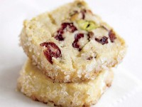 Pistachio cranberry icebox cookie