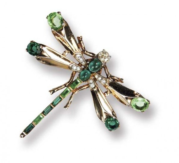 Photo Courtesy Of N Vintage Costume Jewelry Dragonfly