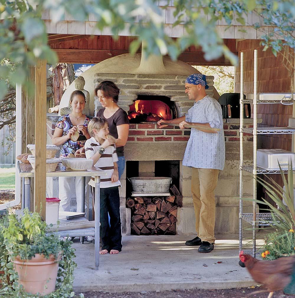 wood fired oven kit