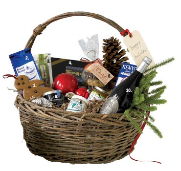 Holiday Gift Basket New England Foods