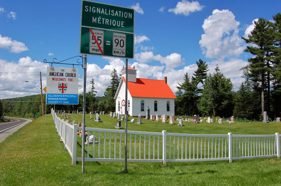 US/Canadian Border Crossings in New England - New England Today on