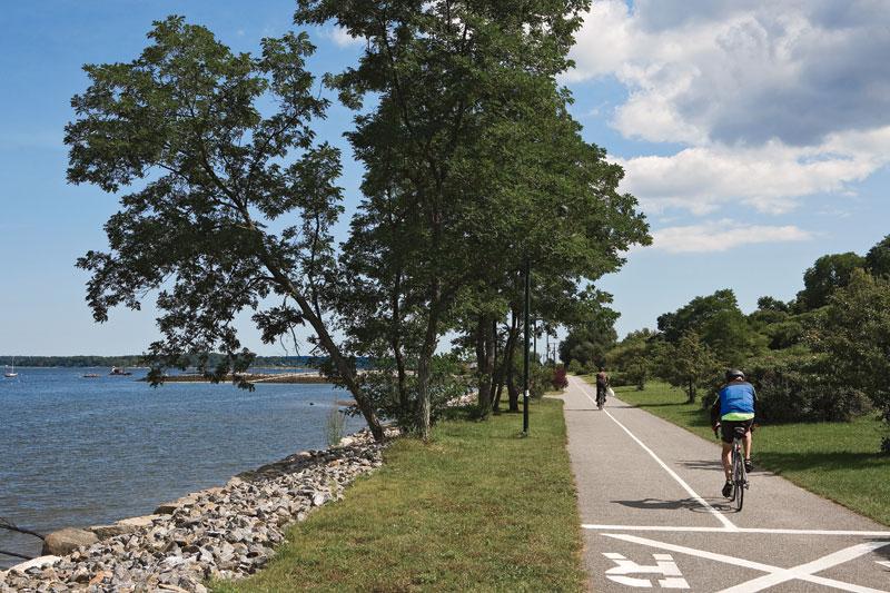 biking portland me