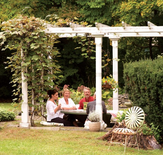 A Connecticut couple transforms their yard into a magical spot.