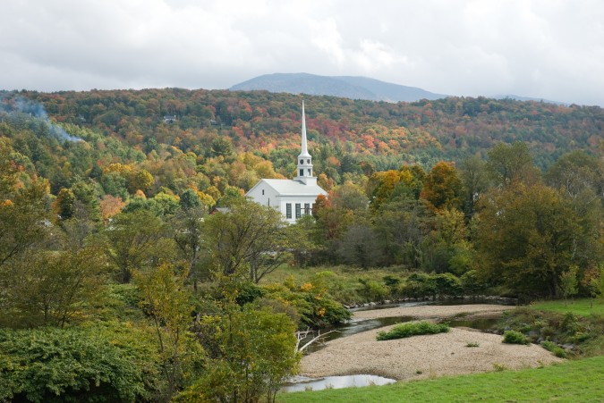 Fall Foliage Drive In Photos - New