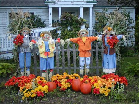 new hampshire scarecrows hudson nh - Halloween New Hampshire