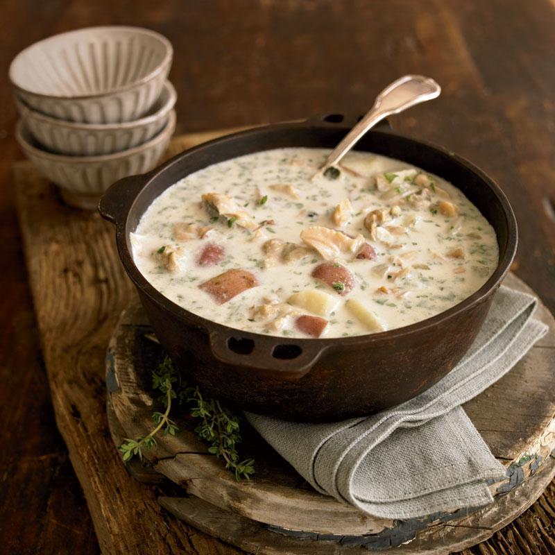 Soup Kitchen Boston: Classic New England Clam Chowder Recipe