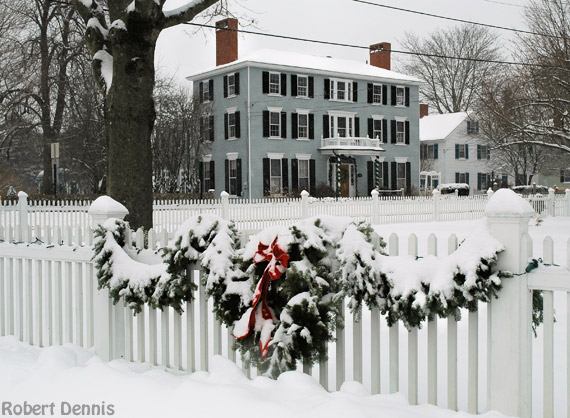 Kennebunkport Christmas Prelude 2019.Scenes From The Kennebunkport Christmas Prelude Yankee