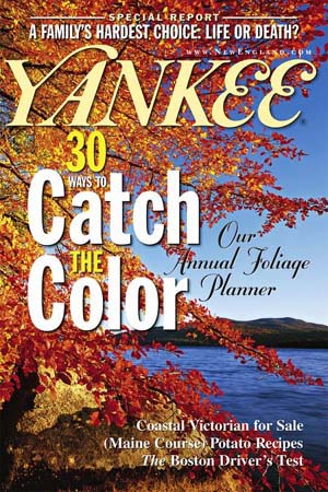 YANKEE Cover, Sept. 2001