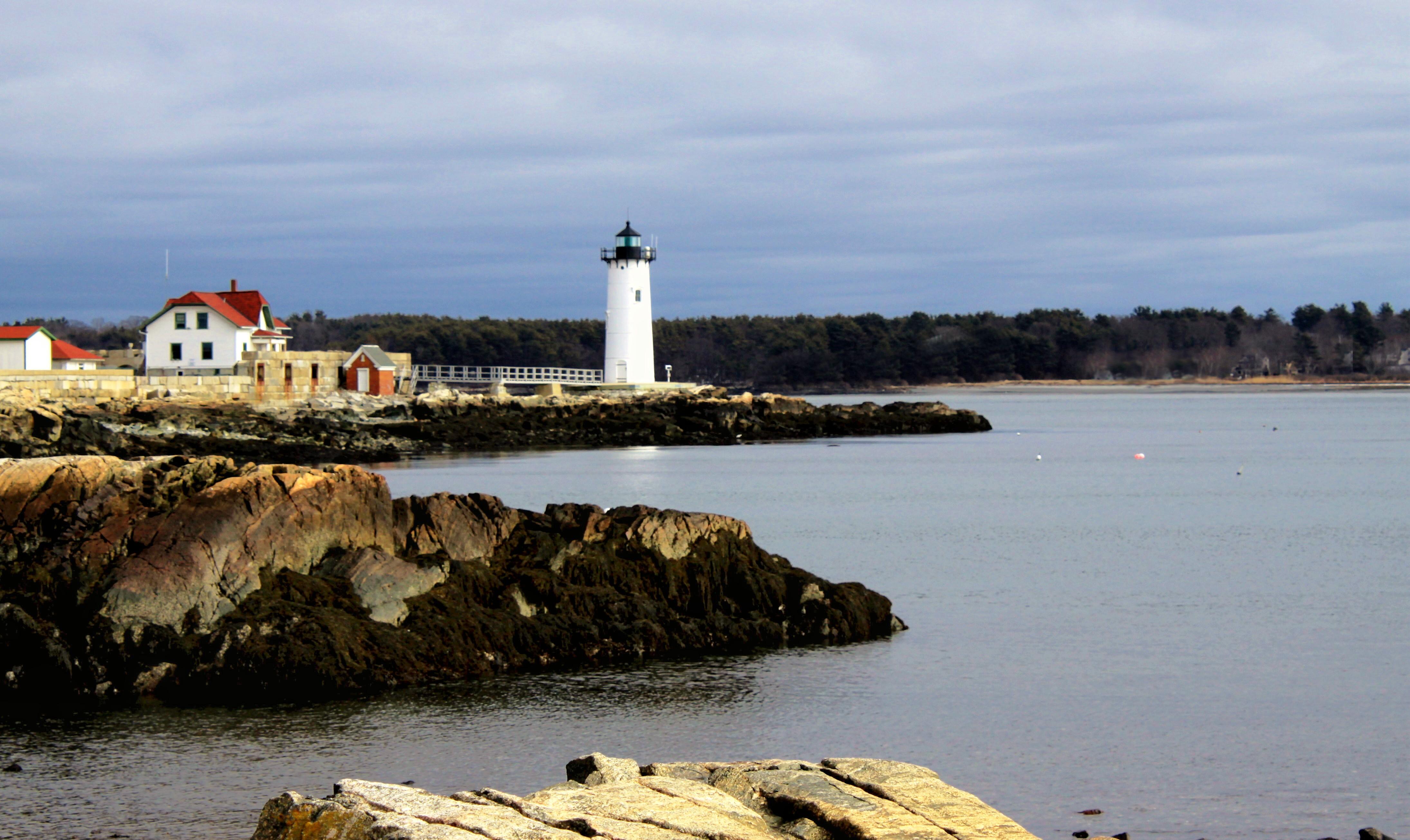Portsmouth Harbor Light In New Castle Nh