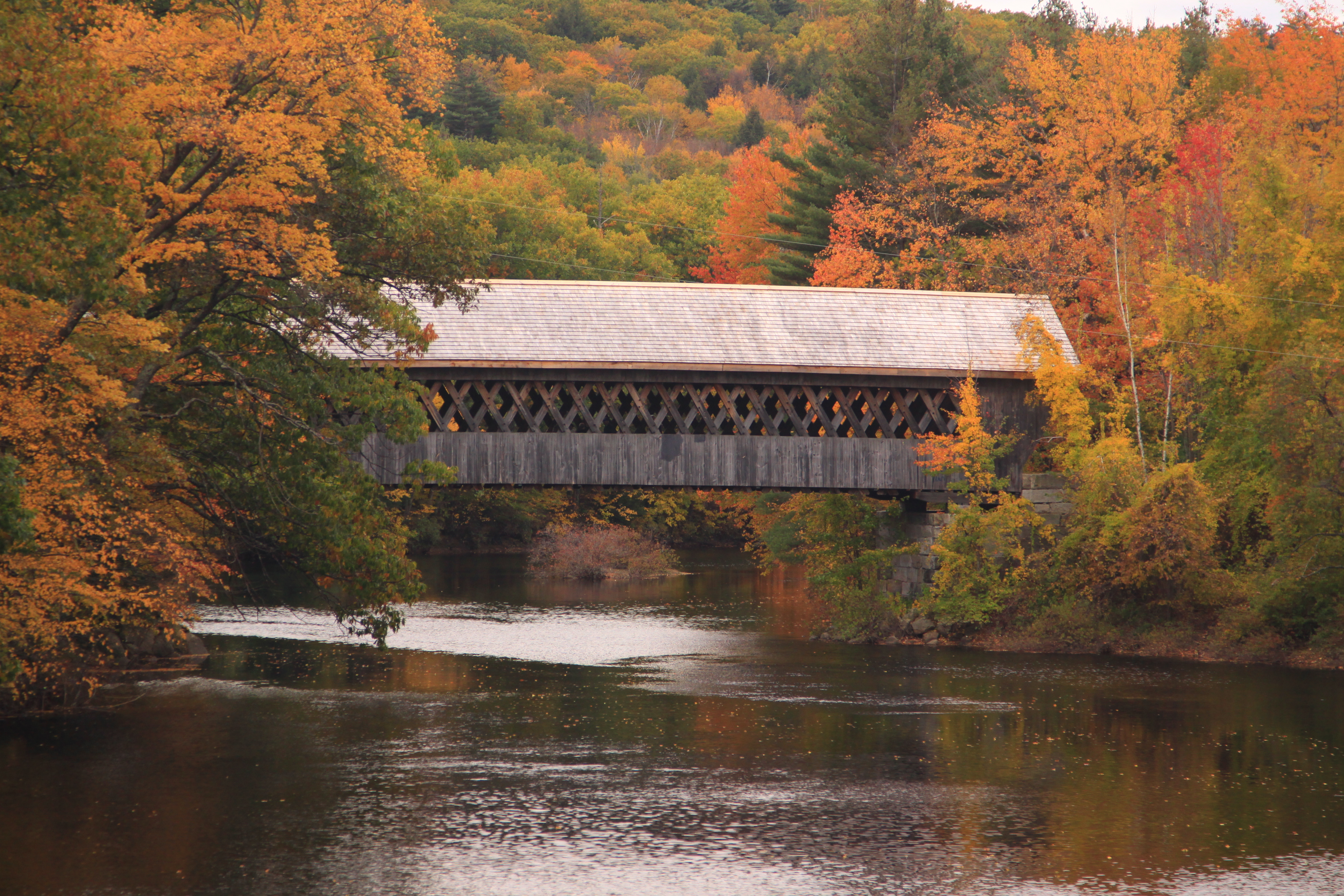 Photo tours of Vermont, New England | Covered bridges ... |New England Covered Bridges Tour