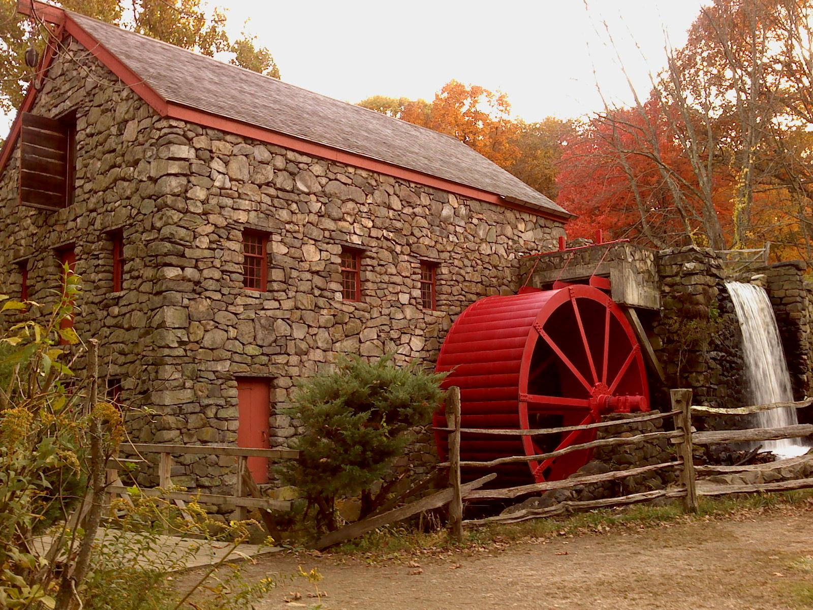 The Wayside Inn Grist Mill Photos New England Today