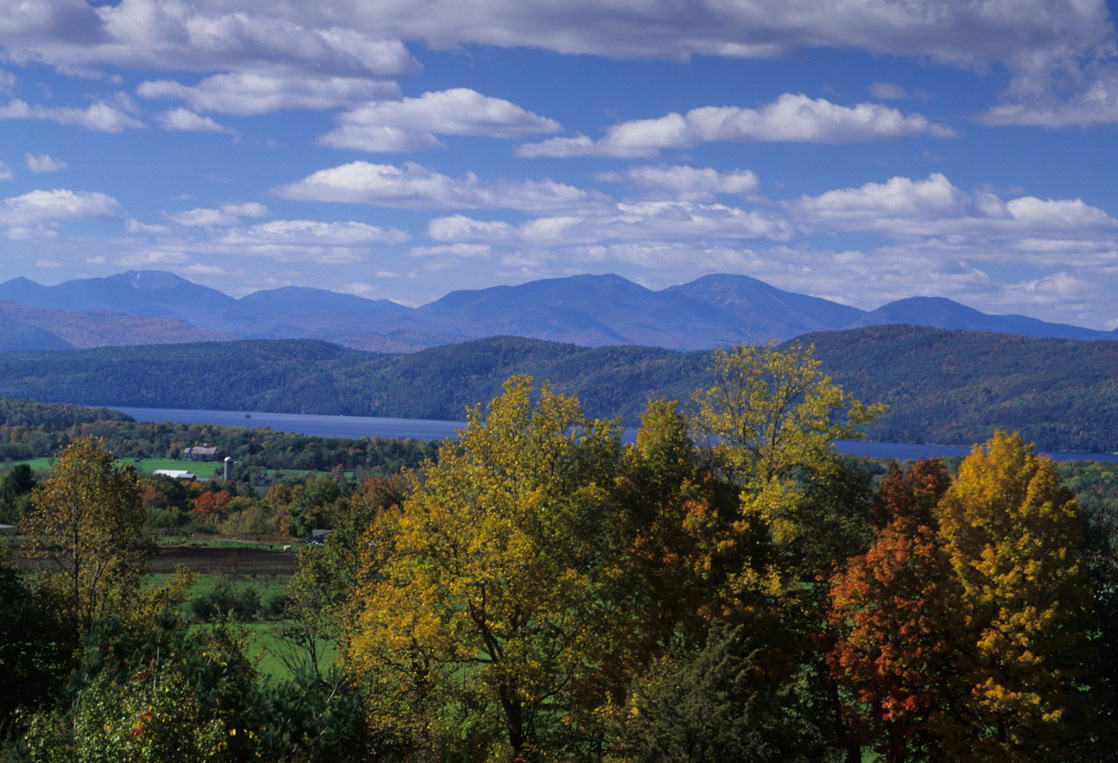 "Lake Champlain, Vermont's ""Great Lake"" 